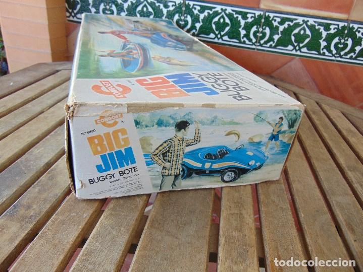 Figuras de acción - Big Jim: BIG JIM BUGGY BOTE DE CONGOST CAJA VACIA SOLO CAJA - Foto 10 - 169264596