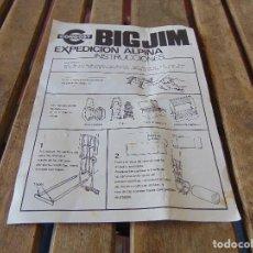 Figuras de acción - Big Jim: BIG JIM INSTRUCCIONES DE LA EXPEDICION ALPINA DE CONGOST. Lote 169265428