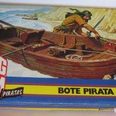 Figuras de acción - Big Jim: ACCESORIO BIG JIM, BOTE PIRATA, DE MATTEL, EN CAJA. CC. Lote 176886704