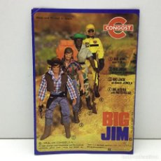 Figuras de acción - Big Jim: CATALOGO CONGOST DE BIG JIM - ORIGINAL - MADE IN SPAIN - AÑOS 70. Lote 170064848