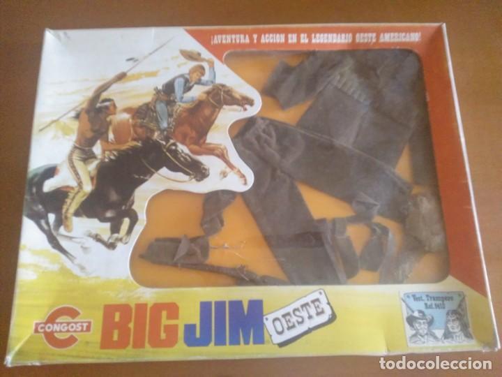 BIG JIM OESTE ** NUEVO EN CAJA SIN ABRIR ** CONGOST (Juguetes - Figuras de Acción - Big Jim)