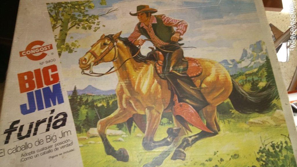 BIG JIM FURIA. EL CABALLO DE BIG JIM. CONGOST. CAJA ORIGINAL. (Juguetes - Figuras de Acción - Big Jim)