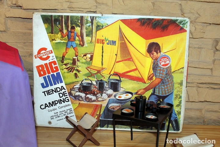 Figuras de acción - Big Jim: BIG JIM - TIENDA DE CAMPING - CONGOST - AÑO 1975 - REF. 8873 - EN SU CAJA ORIGINAL - MADE IN SPAIN - Foto 2 - 178843445