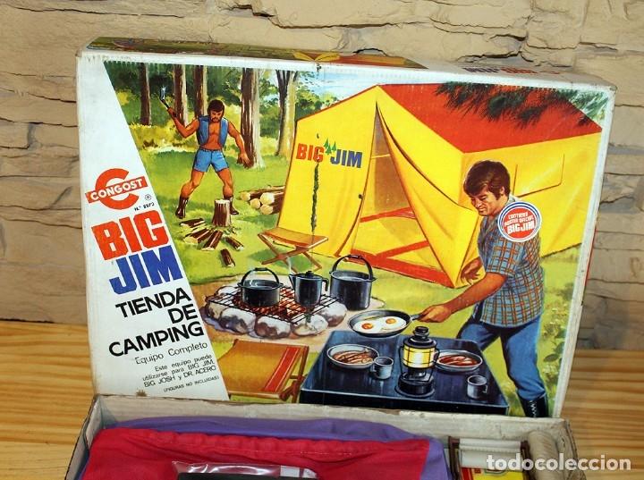 Figuras de acción - Big Jim: BIG JIM - TIENDA DE CAMPING - CONGOST - AÑO 1975 - REF. 8873 - EN SU CAJA ORIGINAL - MADE IN SPAIN - Foto 14 - 178843445