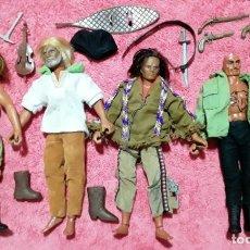 Figuras de acción - Big Jim: BIG JIM CAPITAN FLINT, SANDOKAN, DAKOTA JOE, ZORAK, GERONIMO ESTILO MADELMAN O GEYPERMAN. Lote 180249685