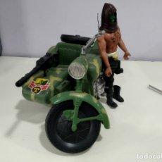 Figuras de acción - Big Jim: BIG JIM LOTE DE MUÑECO MAS MOTO SIDECAR. Lote 222005213