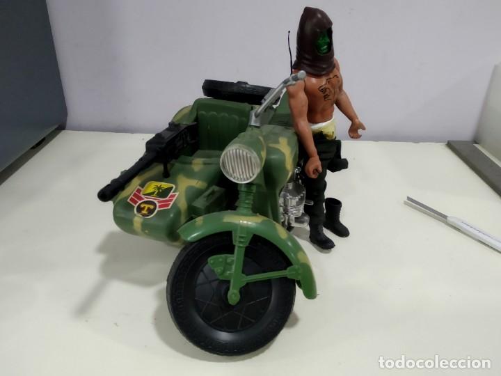 Figuras de acción - Big Jim: BIG JIM LOTE DE MUÑECO MAS MOTO SIDECAR - Foto 2 - 222005213