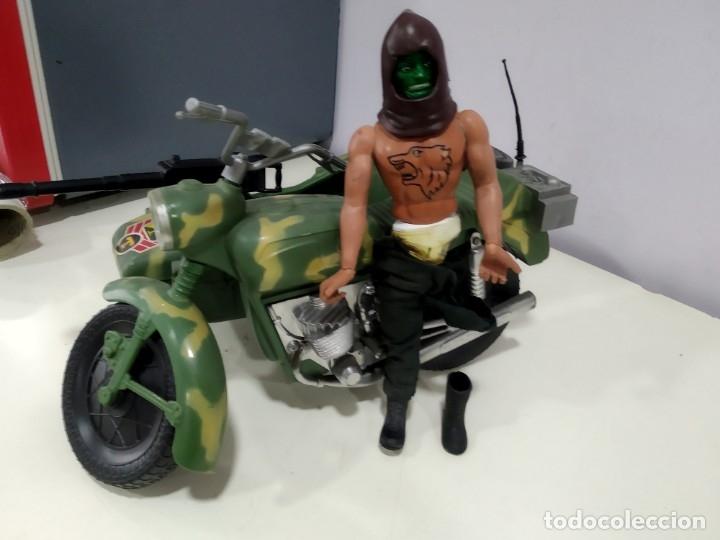 Figuras de acción - Big Jim: BIG JIM LOTE DE MUÑECO MAS MOTO SIDECAR - Foto 3 - 222005213