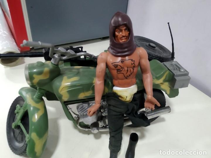 Figuras de acción - Big Jim: BIG JIM LOTE DE MUÑECO MAS MOTO SIDECAR - Foto 5 - 222005213