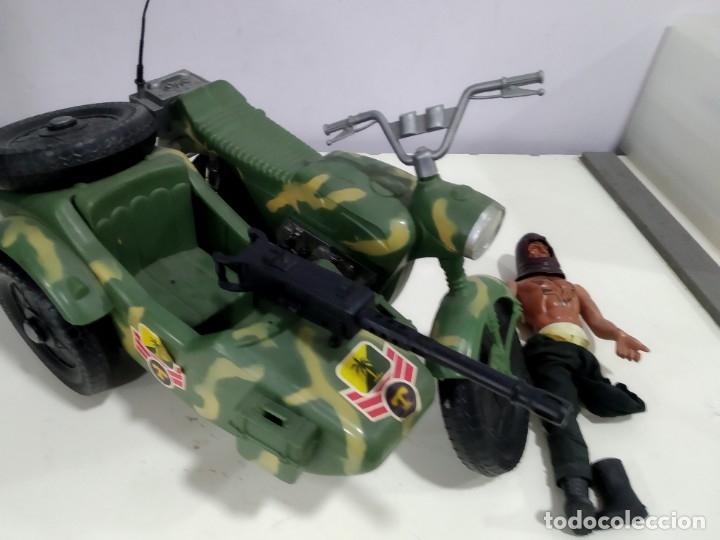 Figuras de acción - Big Jim: BIG JIM LOTE DE MUÑECO MAS MOTO SIDECAR - Foto 9 - 222005213