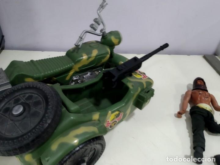Figuras de acción - Big Jim: BIG JIM LOTE DE MUÑECO MAS MOTO SIDECAR - Foto 10 - 222005213