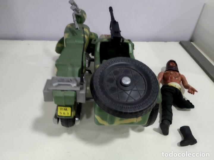 Figuras de acción - Big Jim: BIG JIM LOTE DE MUÑECO MAS MOTO SIDECAR - Foto 11 - 222005213