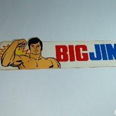 Figuras de acción - Big Jim: -BIG JIM- PEGATINA BIG JIM -19X5 CM -SIN USAR. Lote 184505357