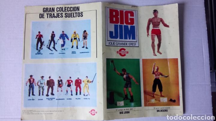 FOLLETO A DOBLE CARA DE BIG JIM DE CONGOST. AÑO 1975. (Juguetes - Figuras de Acción - Big Jim)