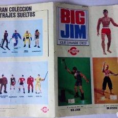 Figuras de acción - Big Jim: FOLLETO A DOBLE CARA DE BIG JIM DE CONGOST. AÑO 1975.. Lote 187297050
