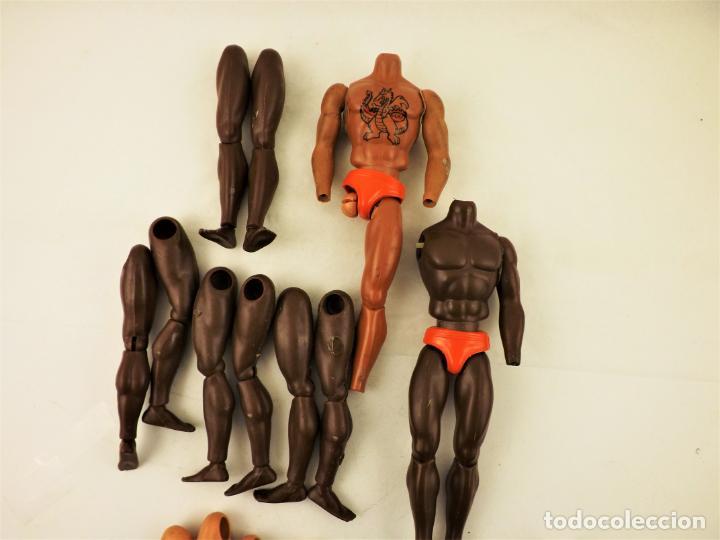 Figuras de acción - Big Jim: Big Jim Lote anatómico para completar muñecos - Foto 3 - 197656188