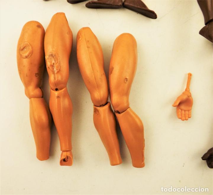Figuras de acción - Big Jim: Big Jim Lote anatómico para completar muñecos - Foto 5 - 197656188