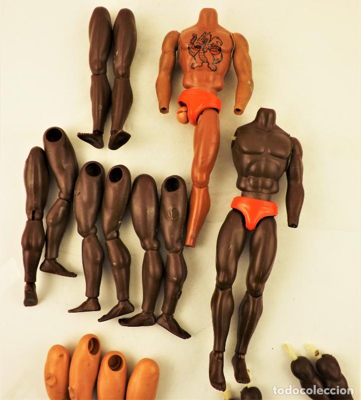 Figuras de acción - Big Jim: Big Jim Lote anatómico para completar muñecos - Foto 8 - 197656188