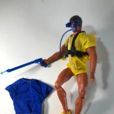 Figuras de acción - Big Jim: LOTE DE ROPA BIG JIM. MUÑECO NO INCLUIDO. MATEL. AÑOS 70 / 80 + REGALO. Lote 199466528