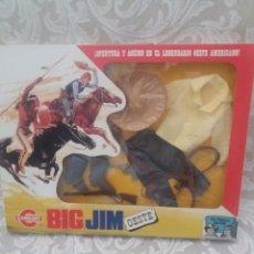 Figuras de acción - Big Jim: BIG JIM OESTE CAJA CON VESTUARIO DE OESTE BIG JIM ARTICULO MUY NUEVO. Lote 204531606