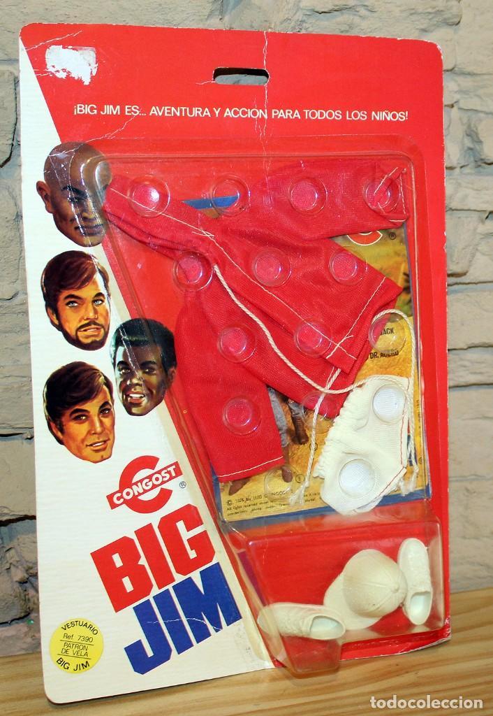 ANTIGUO BLISTER VESTUARIO BIG JIM - REF. 7390 PATRON DE VELA - CONGOST - 1976 - NUEVO (Juguetes - Figuras de Acción - Big Jim)