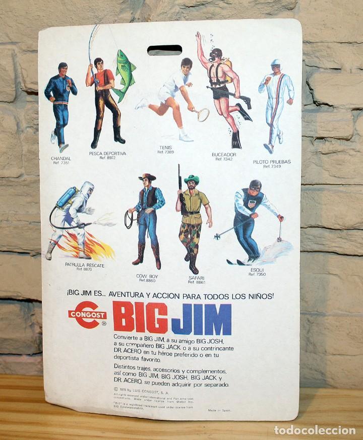 Figuras de acción - Big Jim: ANTIGUO BLISTER VESTUARIO BIG JIM - REF. 7390 PATRON DE VELA - CONGOST - 1976 - NUEVO - Foto 2 - 205350250