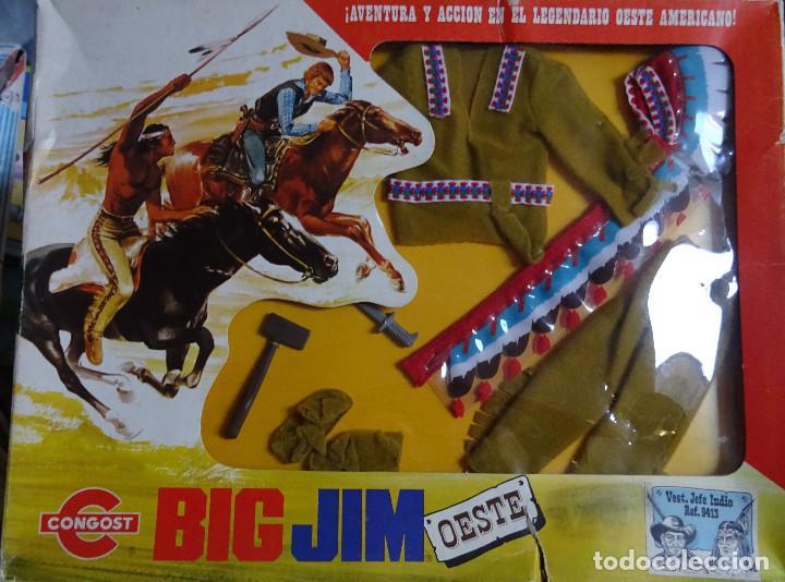 TRAJE DE BIN GIN NUEVO EN SU CAJA ORIGINAL (Juguetes - Figuras de Acción - Big Jim)