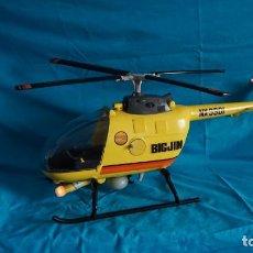 Figuras de acción - Big Jim: HELICOPTERO DE BIG JIM CON SU CAJA ORIGINAL INCLUIDA. Lote 210225298