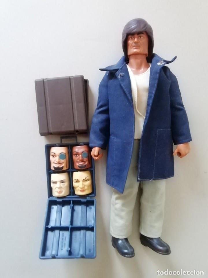 Figuras de acción - Big Jim: IMPRESIONANTE MUÑECO BIG JIM AGENTE SECRETO, DOS MALETINES - Foto 3 - 217378050