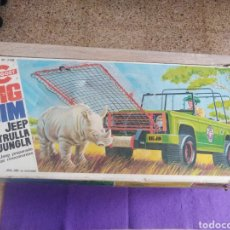 Figuras de acción - Big Jim: JEEP, PATRULLA DE LA JUNGLA, BIG JIM, N 7319 CONGOST, MATTEL 1973.. Lote 221489375