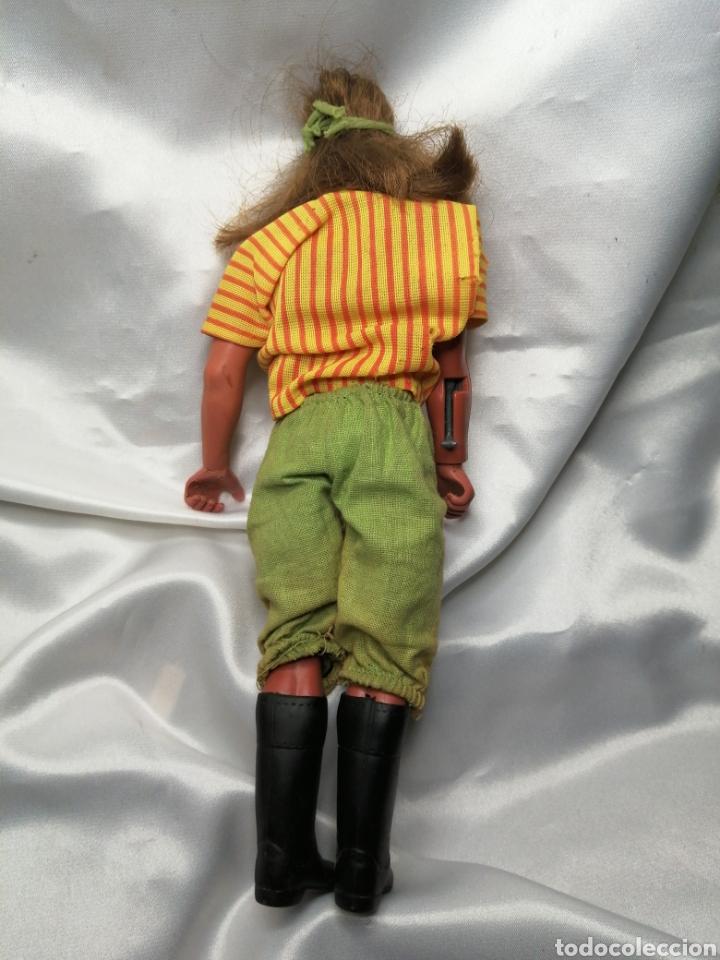 Figuras de acción - Big Jim: Muñeco capitán Flint-Sandokan. Big Jim, Mattel Congost 1971 - Foto 2 - 221588577