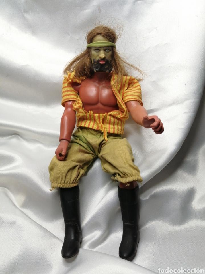 Figuras de acción - Big Jim: Muñeco capitán Flint-Sandokan. Big Jim, Mattel Congost 1971 - Foto 3 - 221588577