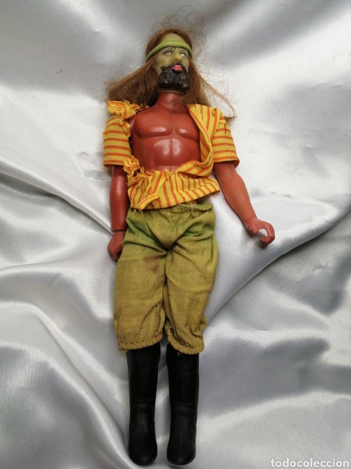 MUÑECO CAPITÁN FLINT-SANDOKAN. BIG JIM, MATTEL CONGOST 1971 (Juguetes - Figuras de Acción - Big Jim)