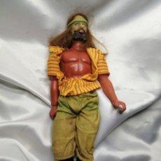 Figuras de acción - Big Jim: MUÑECO CAPITÁN FLINT-SANDOKAN. BIG JIM, MATTEL CONGOST 1971. Lote 221588577