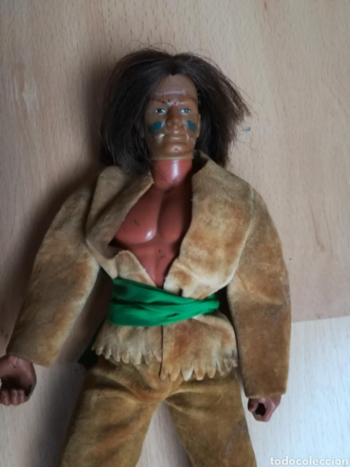 Figuras de acción - Big Jim: Antiguo muñeco BIG JIM GERONIMO. Congost. - Foto 2 - 221665165