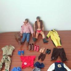 Figuras de acción - Big Jim: LOTE MUÑECOS Y ACCESORIOS DE BIG JIM ANTIGUOS. DE MATTEL. Lote 221991683