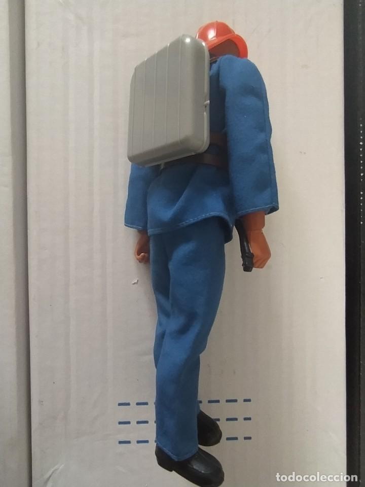 Figuras de acción - Big Jim: RARO BIG JIM BOMBERO ORIGINAL MATTEL CONGOST AÑOS 70 MUY BUEN ESTADO - Foto 3 - 225406877