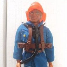 Figuras de acción - Big Jim: RARO BIG JIM BOMBERO ORIGINAL MATTEL CONGOST AÑOS 70 MUY BUEN ESTADO. Lote 225406877