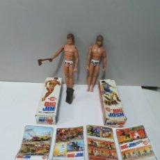 Figuras de acción - Big Jim: BIG JIM, BIG JOSH, CON SUS CAJAS ORIGINALES. CONGOST. 1977.. Lote 227066710