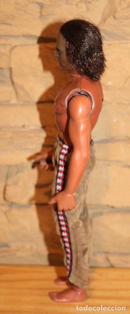 Figuras de acción - Big Jim: BIG JIM INDIO GERONIMO, DE CONGOST - TODO ORIGINAL: PANTALON, ESCOPETA Y CINTA DEL PELO - 1971 - Foto 3 - 228449230