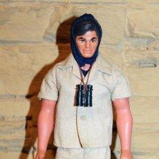 Figuras de acción - Big Jim: ANTIGUO MUÑECO BIG JIM AGENTE SECRETO - ESPIA - MATTEL ITALY - AÑO 1971 - BIEN CONSERVADO. Lote 228526515