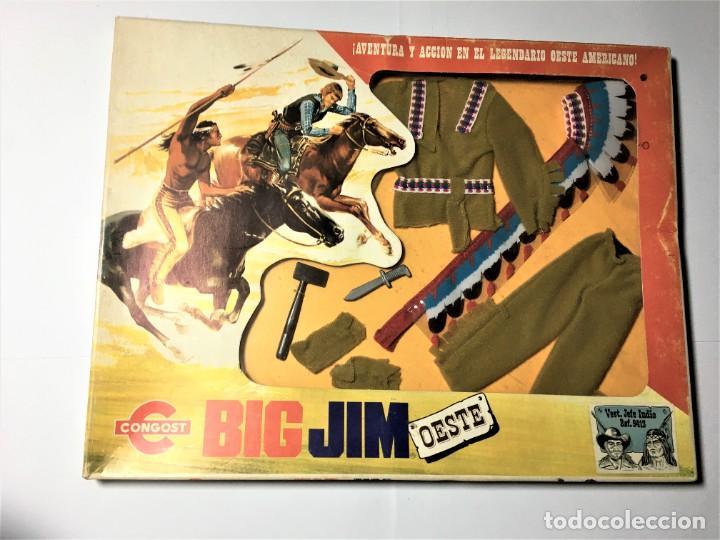 BIG JIM OESTE CONJUNTO JEFE INDIO (Juguetes - Figuras de Acción - Big Jim)