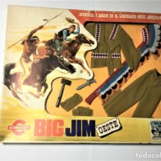 Figuras de acción - Big Jim: BIG JIM OESTE CONJUNTO JEFE INDIO. Lote 229092135