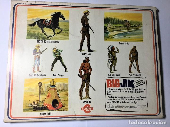 Figuras de acción - Big Jim: BIG JIM OESTE CONJUNTO JEFE INDIO - Foto 2 - 229092135