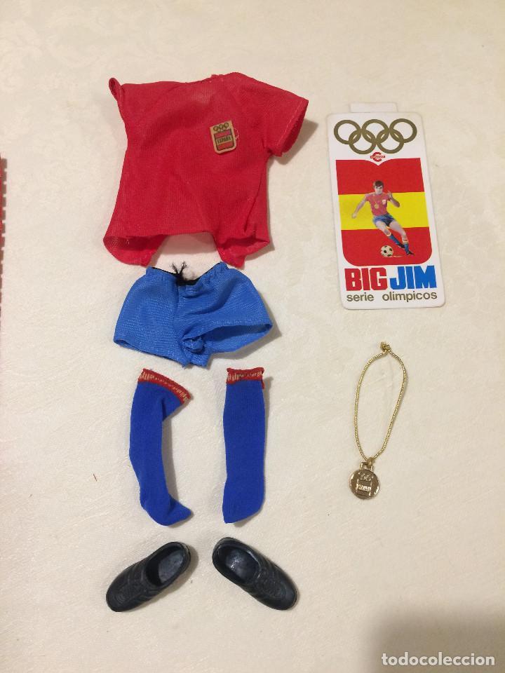 BIG BIG JIM - SERIE OLÍMPICOS - CONGOST - FÚTBOL - SIN EL MUÑECO (Juguetes - Figuras de Acción - Big Jim)