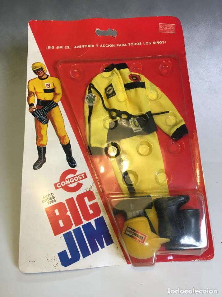 RARO BIG JIM VESTUARIO MOTO CROSS BULTACO REF 7368 CONGOST (Juguetes - Figuras de Acción - Big Jim)
