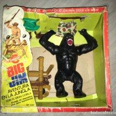Figuras de acción - Big Jim: BIG JIM AVENTURA EN LA JUNGLA CON CAJA - JUNGLE ADVENTURE GIANT APE. Lote 236534200