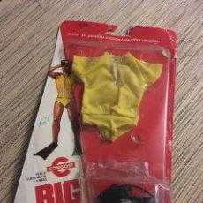 Figuras de acción - Big Jim: BIG JIM EQUIPO PESCA SUBMARINA EN BLISTER. Lote 236926235