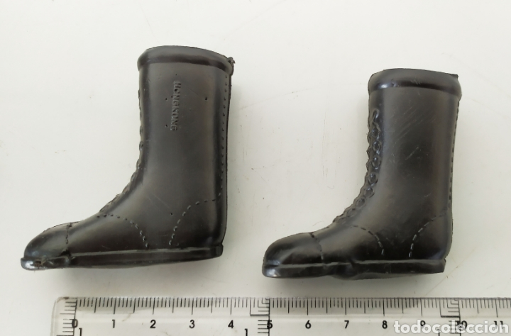 Figuras de acción - Big Jim: Accesorios botas negras figura acción muñeco Action man Big jim - Foto 2 - 241397120