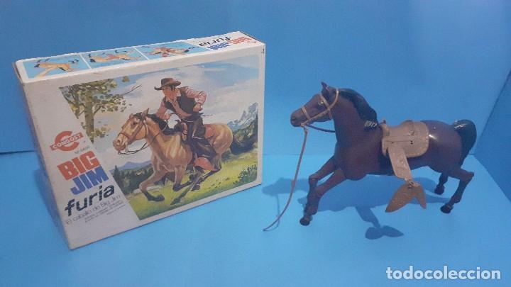 Figuras de acción - Big Jim: Lote Big Jim. El caballo furia, la tienda de camping y Maniqui negro. Congost. - Foto 6 - 248209175